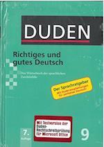 Duden (9) - Richtiges und gutes Deutsch (HB mit CD-ROM) - 7. Auflage