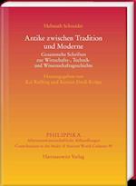 Antike Zwischen Tradition Und Moderne (Philippika, nr. 95)