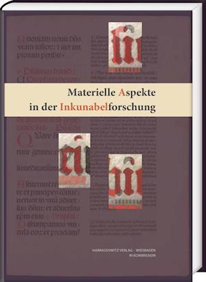 Bog, hardback Materielle Aspekte in Der Inkunabelforschung