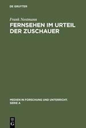 Fernsehen Im Urteil Der Zuschauer af Frank Nestmann