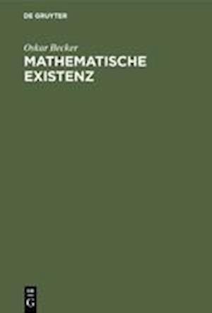 Mathematische Existenz af Oskar Becker