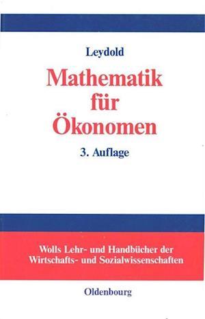 Mathematik Fur Okonomen af Josef Leydold