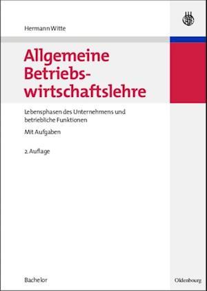 Allgemeine Betriebswirtschaftslehre af Hermann Witte