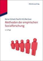 Methoden Der Empirischen Sozialforschung af Rainer Schnell, Paul B. Hill, Elke Esser