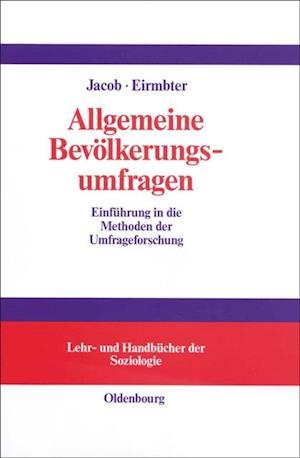 Allgemeine Bevolkerungsumfragen af Willy H. Eirmbter
