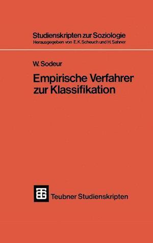 Empirische Verfahren Zur Klassifikation af Wolfgang Sodeur
