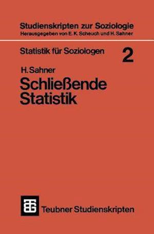 Statistik Fur Soziologen 2 af Heinz Sahner, Heinz Sahner