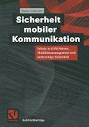 Sicherheit Mobiler Kommunikation af Hannes Federrath