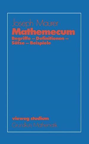 Mathemecum af Joseph Maurer