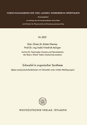 Schwefel in Organischer Synthese af Dieter Neuray