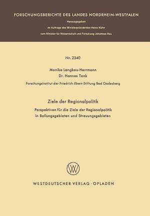 Ziele Der Regionalpolitik af Monika Langkau-Herrmann