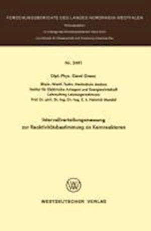 Intervallverteilungsmessung Zur Reaktivitatsbestimmung an Kernreaktoren af Gerd Grenz, Gerd Grenglishz