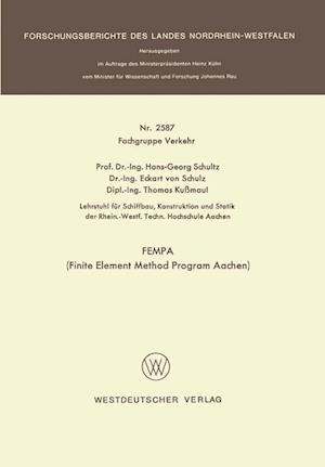 Fempa (Finite Element Method Program Aachen) af Hans-Georg Schultz
