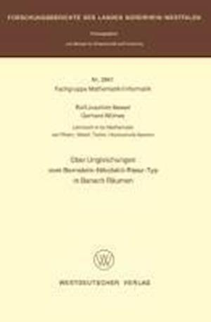Uber Ungleichungen Vom Bernstein-Nikolskii-Riesz-Typ in Banach Raumen af Rolf Joachim Nessel, Rolf Joachim Nessel