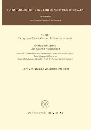 Joint Ventures ALS Marketing-Problem af Marguerite Benci