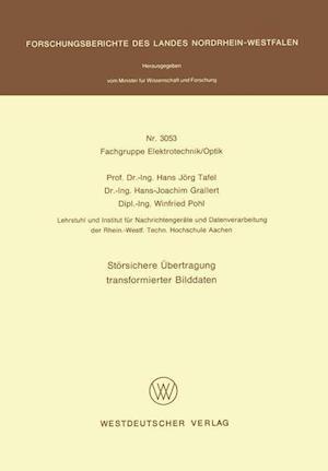 Storsichere Ubertragung Transformierter Bilddaten af Hans Jorg Tafel
