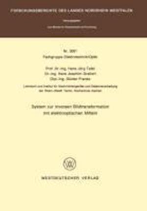 System Zur Inversen Bildtransformation Mit Elektrooptischen Mitteln af Hans Jorg Tafel, Hans Jorg Tafel