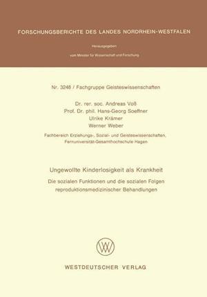 Ungewollte Kinderlosigkeit ALS Krankheit af Andreas Voss