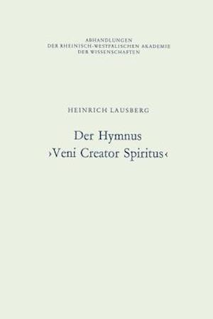 Der Hymnus Veni Creator Spiritus af Heinrich Lausberg