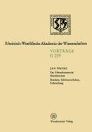 Geisteswissenschaften af Jan Oberg, Jan Eoberg