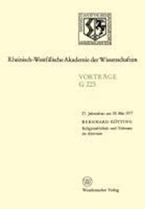 Religionsfreiheit Und Toleranz Im Altertum af Bernhard Keotting, Bernhard Kotting