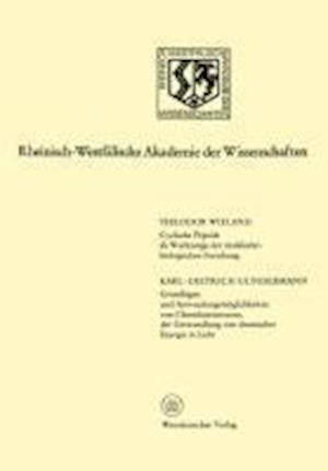 Cyclische Peptide ALS Werkzeuge Der Molekularbiologischen Forschung. Grundlagen Und Anwendungsmoglichkeiten Von Chemilumineszenz, Der Umwandlung Von C af Theodor Wieland