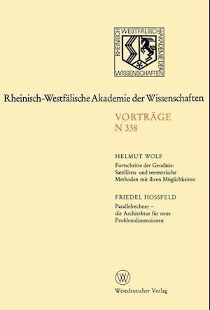 Fortschritte Der Geodasie af Helmut Wolf