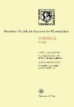 Gerechtigkeit Und Fairness in Wirtschaft Und Gesellschaft. Entstaatlichungspotentiale Im Hochschulbereich af Ernst Helmstadter