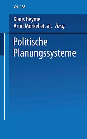 Politische Planungssysteme af Frieder Naschold