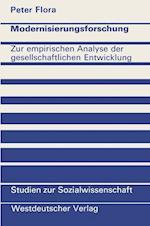 Modernisierungsforschung af Peter Flora