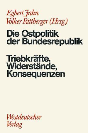 Die Ostpolitik der BRD af Egbert Jahn