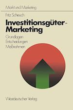 Investitionsguter-Marketing af Fritz Scheuch