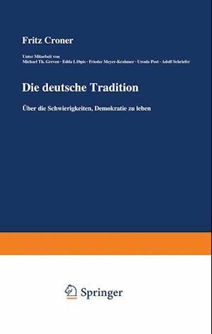 Die Deutsche Tradition af Fritz Croner