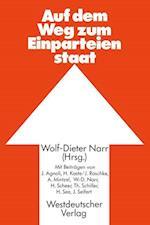 Auf dem Weg zum Einparteienstaat af Wolf-Dieter Narr