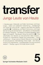 Junge Leute Von Heute af Carl Bohret, Garry D. Brewer, Ronald D. Brunner