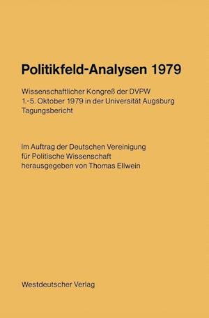 Politikfeld-Analysen 1979 af Thomas Ellwein