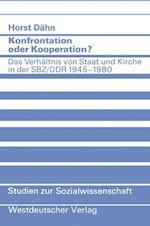 Konfrontation Oder Kooperation? af Horst Dahn, Horst Deahn