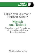 Mensch Und Technik af Ulrich ?Von? Alemann, Ulrich von Alemann