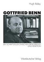 Gottfried Benn af Hugh Ridley