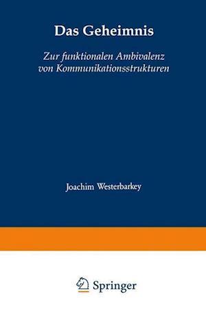 Das Geheimnis af Joachim Westerbarkey