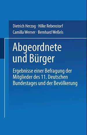 Abgeordnete Und Burger af Dietrich Herzog