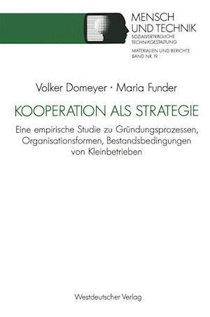 Kooperation ALS Strategie af Volker Domeyer, Maria Funder