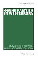 Grune Parteien in Westeuropa af Ferdinand Muller-Rommel, Ferdinand Meuller-Rommel