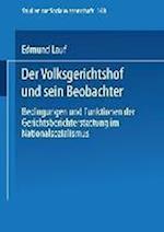 Der Volksgerichtshof Und Sein Beobachter af Edmund Lauf