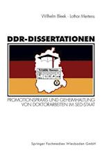 Ddr-Dissertationen af Wilhelm Bleek, Andreas Alfoldi, Lothar Mertens
