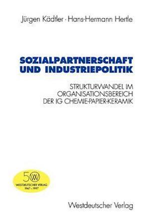 Sozialpartnerschaft und Industriepolitik af Jurgen Kadtler