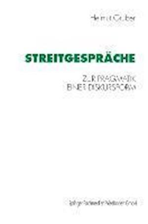 Streitgesprache af Helmut Gruber, Helmut Gruber