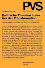 Politische Theorien in der Ara der Transformation af Klaus Von Beyme