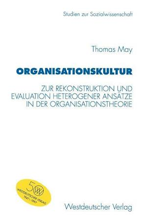 Organisationskultur af Thomas May