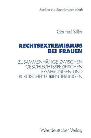 Rechtsextremismus Bei Frauen af Gertrud Siller